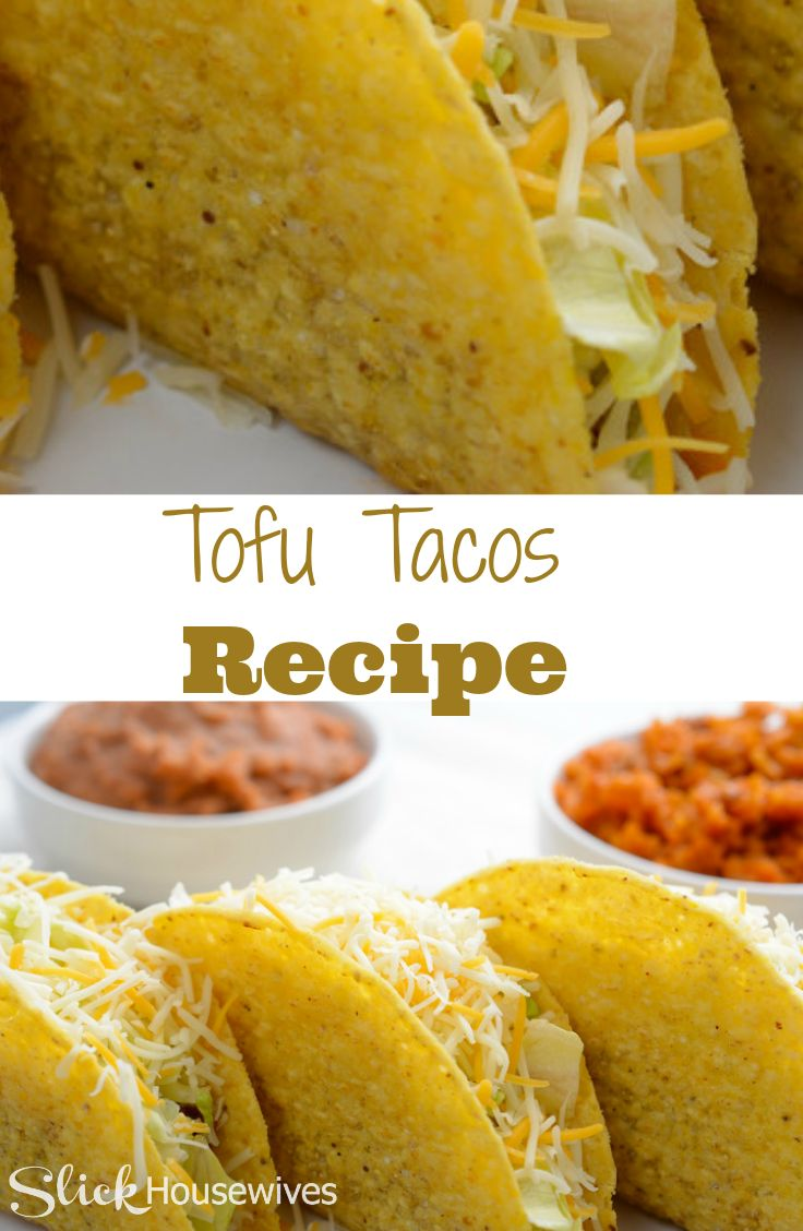 Try this Tofu Tacos recipe and instead of making Ground Beef Tacos. Tofu is better because it is high in protein and iron while low in calories and fat.