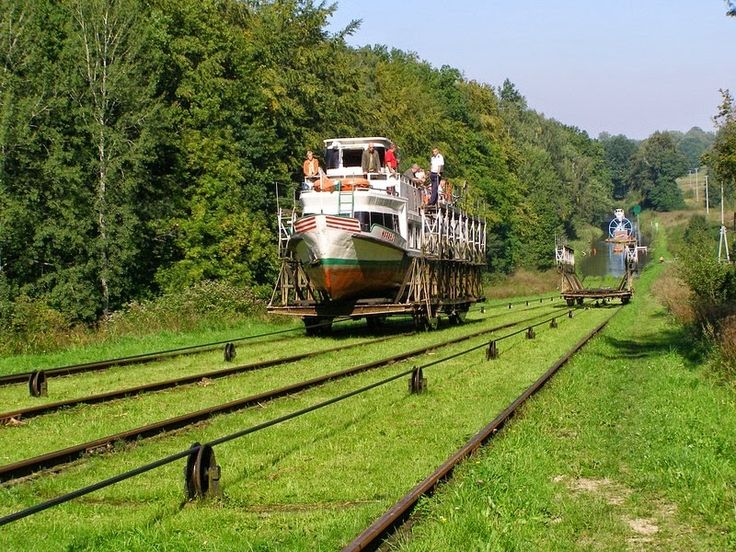 The Inclined Boat Lifts of Elblag Canal, Poland