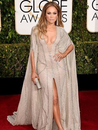 Jennifer Lopez attends the 72nd Annual Golden Globe Awards.