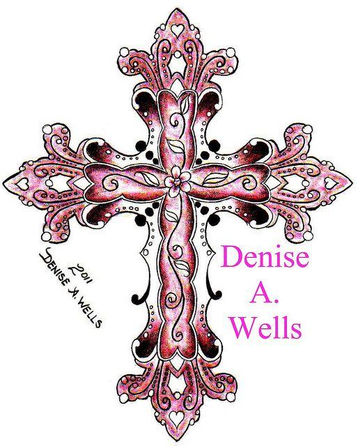 Pinterest the world s catalog of ideas for Elegant cross tattoo designs
