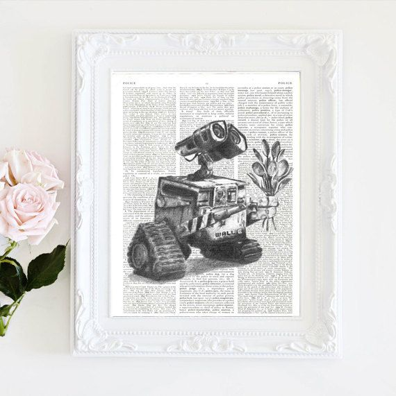 WallE by secondprints on Etsy