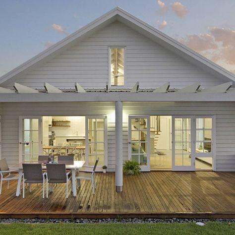 stunning Hamptons-style @eco_essence_homes project using Scyon Linea cladding
