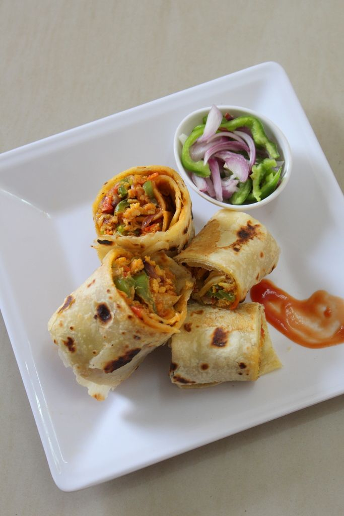 Kathi roll recipe here is a roll recipe in which the roll is stuffed with a delicious egg filling which is a mouth watering egg stuffing inside the rolls...