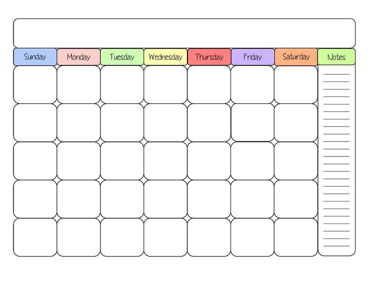 The  Best  Printable Calendar Template Ideas On