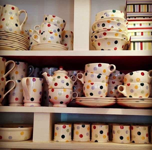polka dots~Emma Bridgewater Dishes