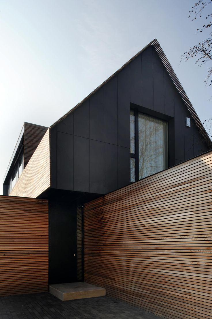 Maison basse consommation à filsdorf – haus kieffer: maisons de steinmetzdemeyer architectes urbanistes