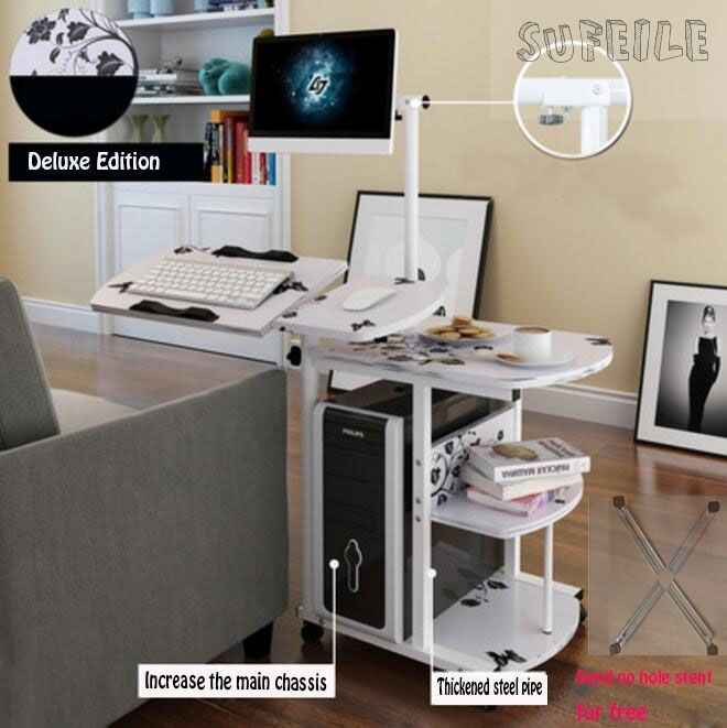 (289.00$)  Buy here - http://aian1.worlditems.win/all/product.php?id=32797238891 - SUFEILE 1pc  Hot sale hanging simple bedside desk lazy desktop computer desk fashional home office furniture  17SAN9D15