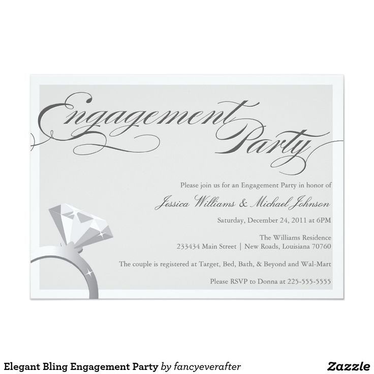 617 best images about Engagement Party Invitations – Elegant Engagement Party Invitations