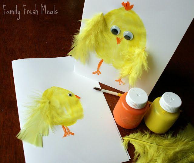 Family Fun: DIY Easter Card Craft | FamilyFreshMeals.com