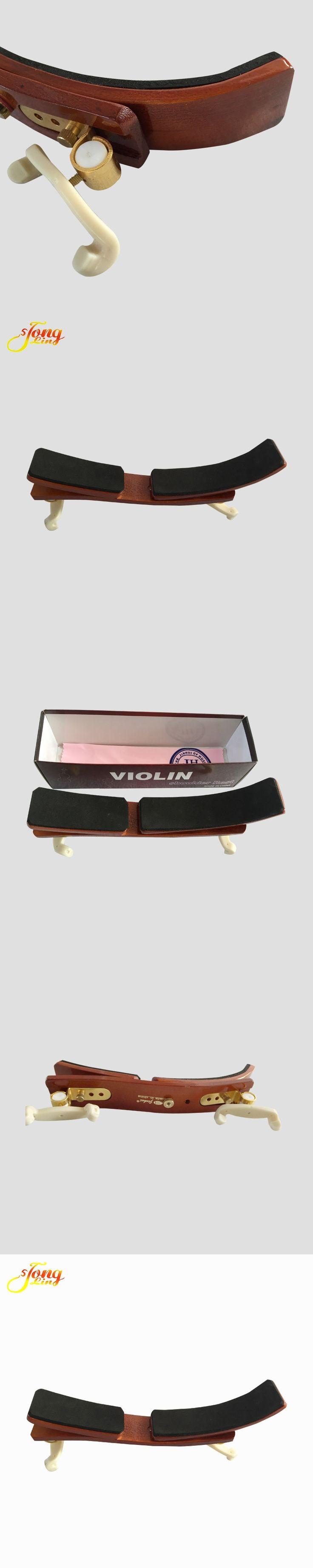 Violin Shoulder Rest 4/4 3/4  High Grade Hardwood Brass Violino Shoulder Pad Professional Violin Parts Accessories