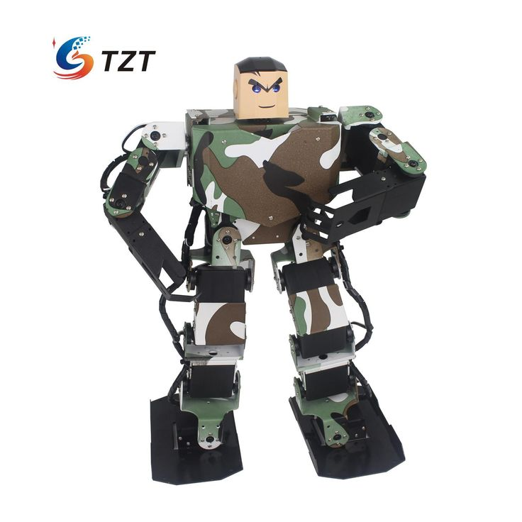 Soldier King 16DOF Smart Humanoid Robot Contest Dance Programmable Biped Robotics w/Servo for DIY