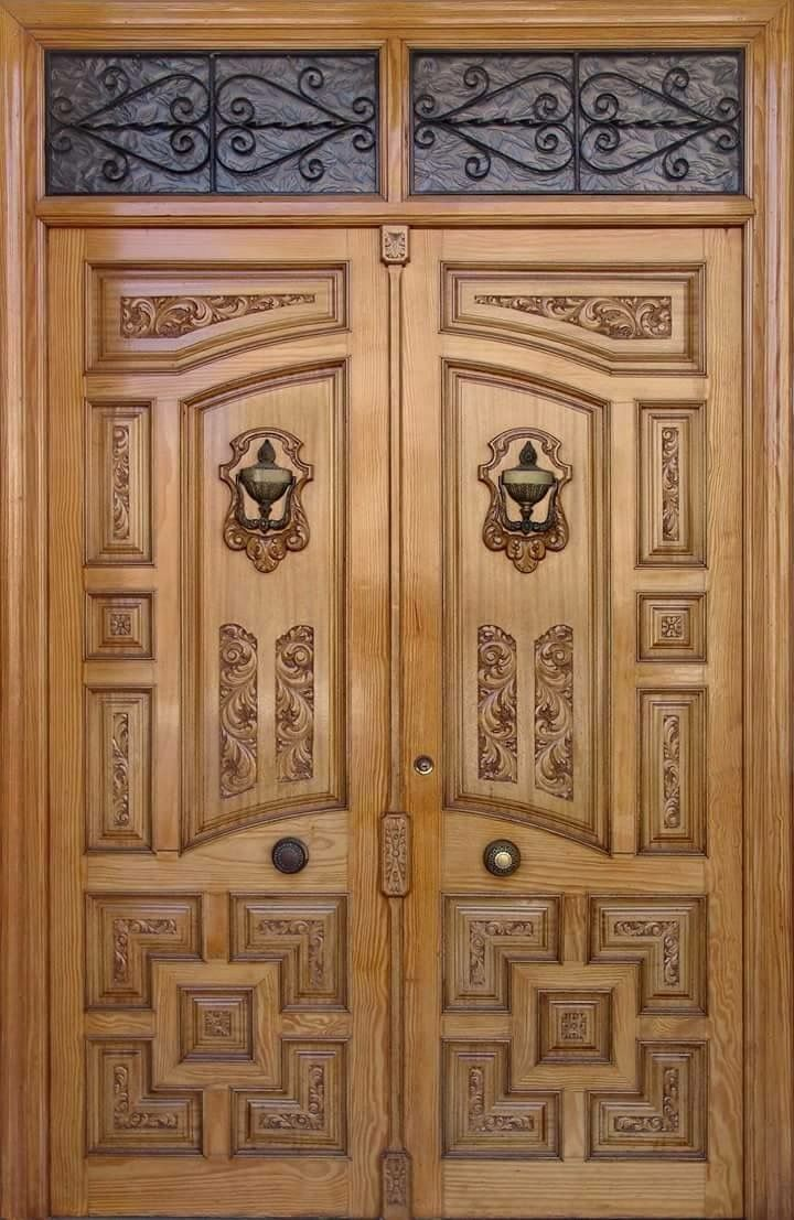 Pin by zahid hussain abid on wood doors pinterest home for Wooden door designs for main door