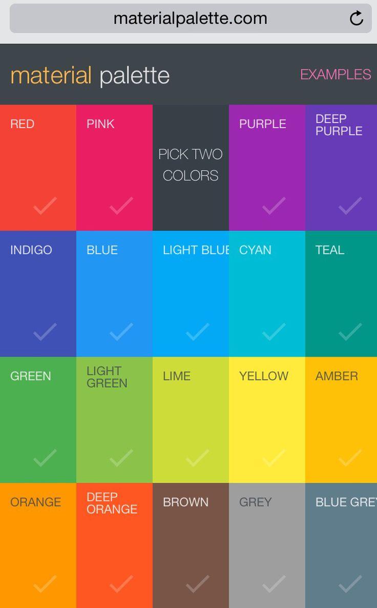 Die besten 25+ Farbpalettengenerator Ideen auf Pinterest ...