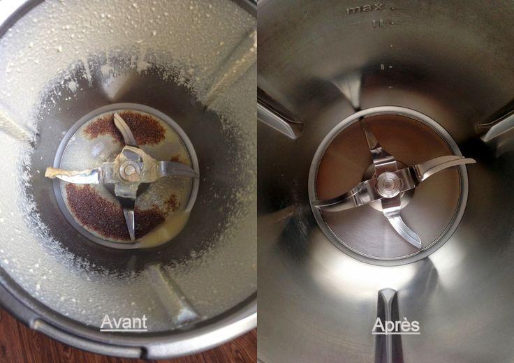 La Fée Saveur....: Astuce nettoyage Thermomix