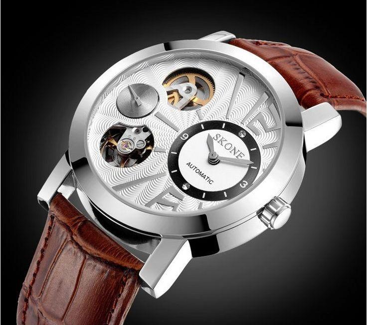 SKONE Mechanical Self Wind Watch