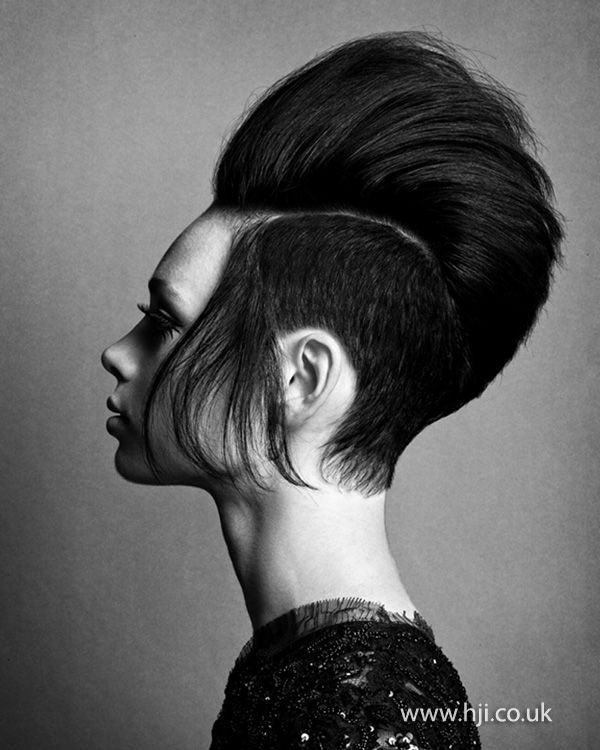 Skyler McDonald London Hairdresser of the Year finalist