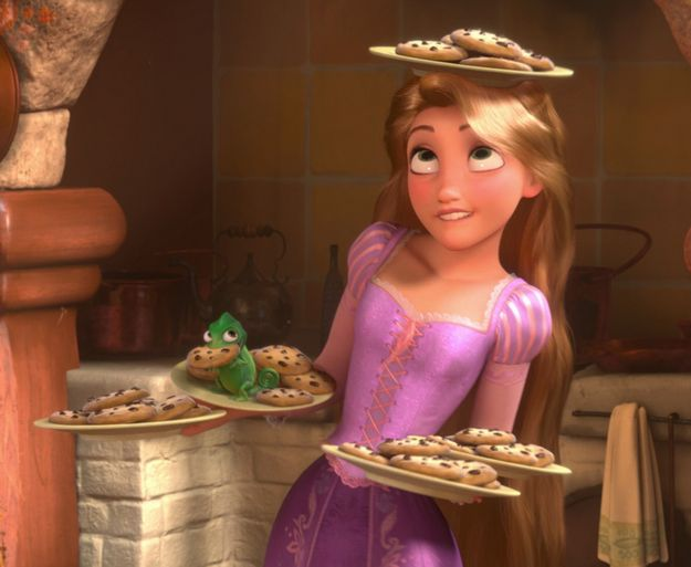 Rapunzel's Cookies From Tangled | 26 Iconic Foods From Disney Movies You Can Actually Make