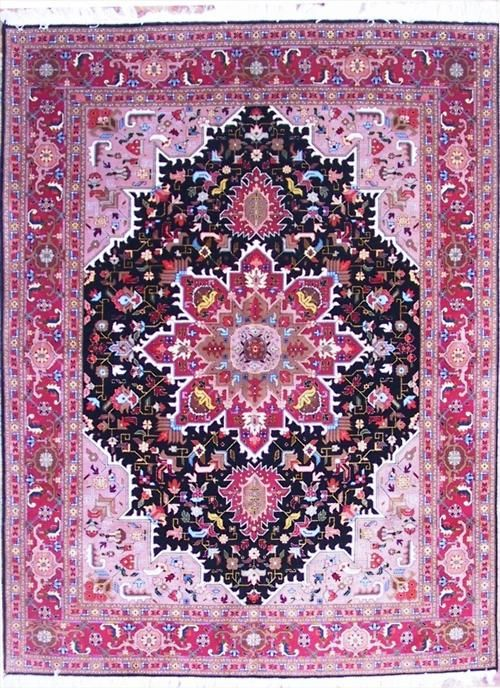 Pink Purple Persian Rug