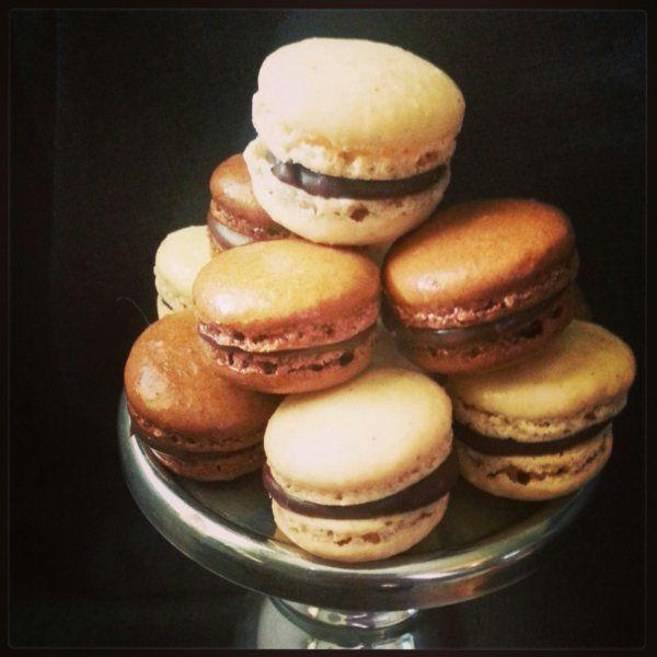 Recipe: Chocolate macaroons & espressoganache Cinnamon macaroons ...