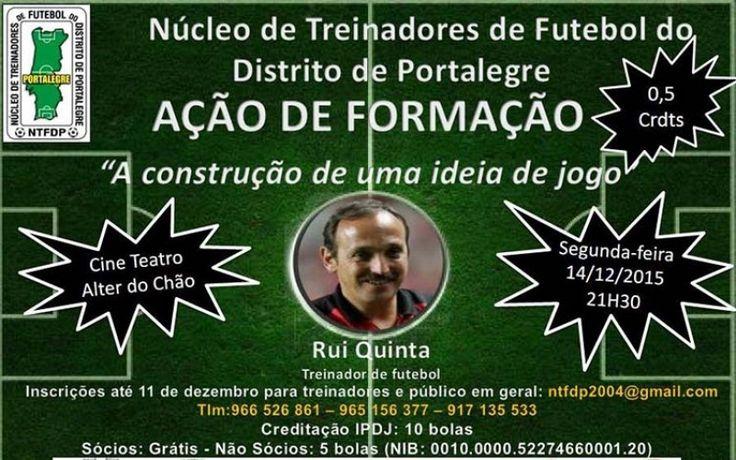 Núcleo de Treinadores de Futebol de Portalegre organiza acção de Formação