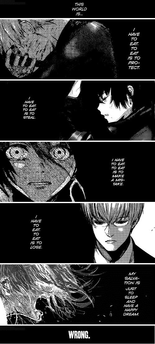 Tokyo Ghoul   This World Is Wrong, この世界は間違っている