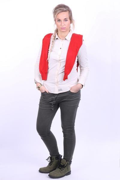 Tom Joule Womens XS Casual Shirt Beige Cotton - RetrospectClothes