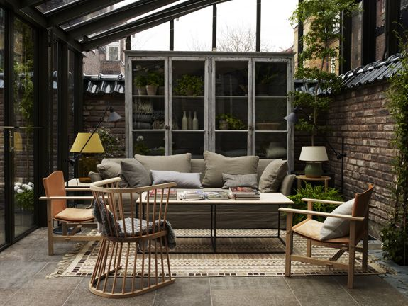 starting now, i shall live here.: Living Rooms, Sunrooms, Outdoor Rooms, House, Outdoor Spaces, Lifestyle Blog, A Hemmings, Sun Rooms, Lounges Area