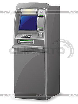 Банкомат | Векторный клипарт | ID 3138229