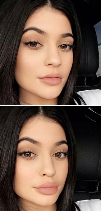 Kylie Jenner shows *exactly* how to fool people about the size of your lips...