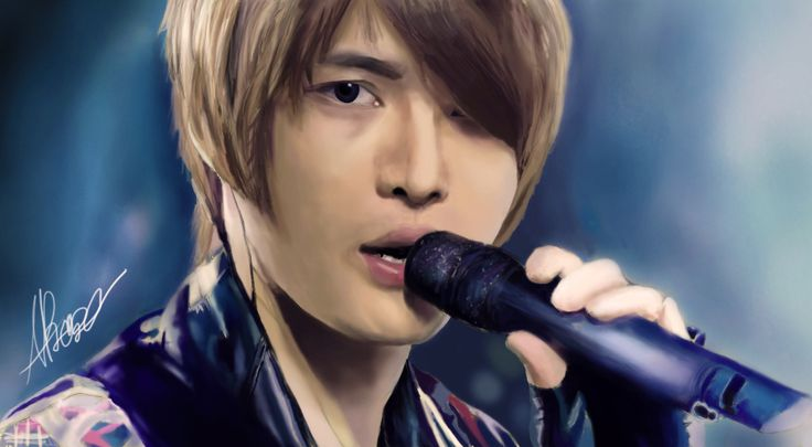 This is my Digital Painting of Kim Jaejoong! #jaejoong  #kimjaejoong #jyj #digitalart #digital art #art #digitalpainting #wacom #painting #drawing #artwork #dbsk #jejung