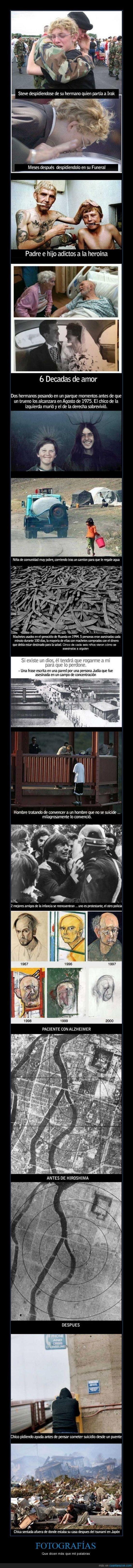 FOTOGRAFÍAS - Que dicen más que mil palabras