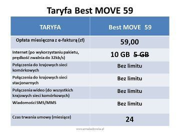 BEST MOVE 59 oferta z telefonem