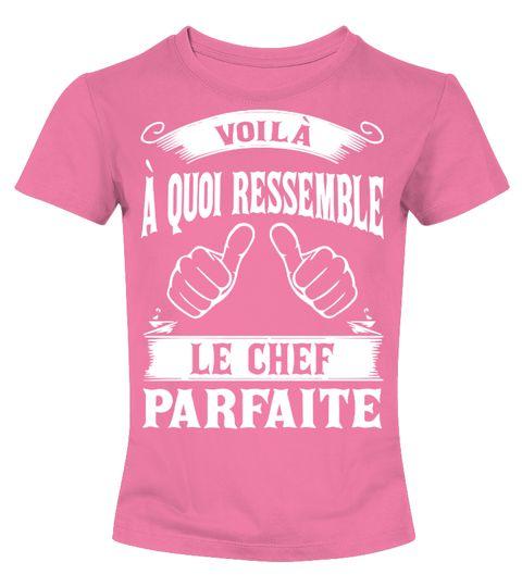 T shirt  Le Chef Parfaite BestSeller Prix Bas  fashion trend 2018 #tshirt, #tshirtfashion, #fashion