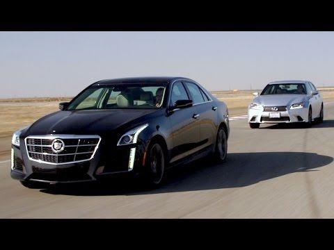▶ 2014 Cadillac CTS Vsport vs 2013 Lexus GS350 F Sport! - Head 2 Head Ep. 45 - YouTube