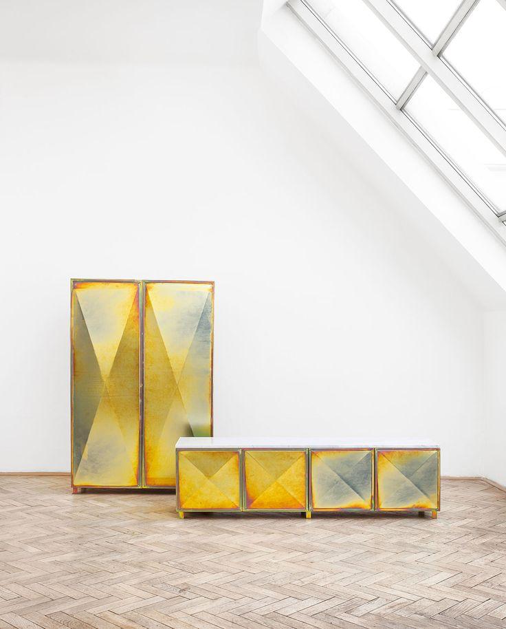 milantrace2017 la chance zinc cabinets salone del mobile 2017, Mobel ideea