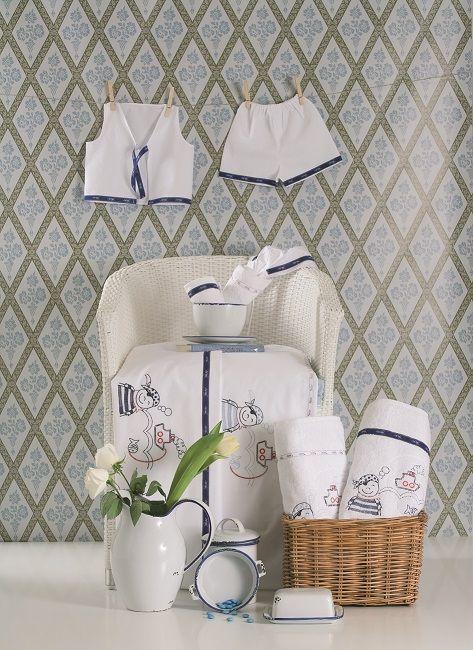 Baptismal Set by Lina Baby 2011 collection #linababy #ladopana  #oilsheets