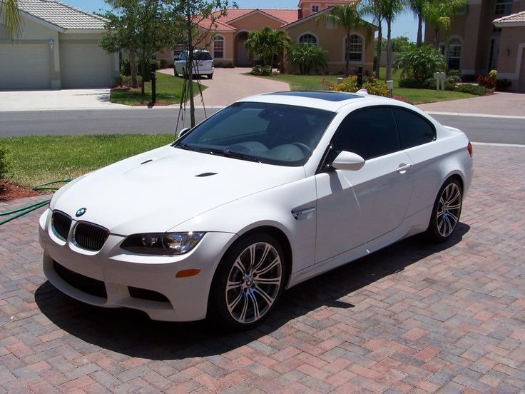 2011 White BMW M3- not really a car girl but this is sweet looking!