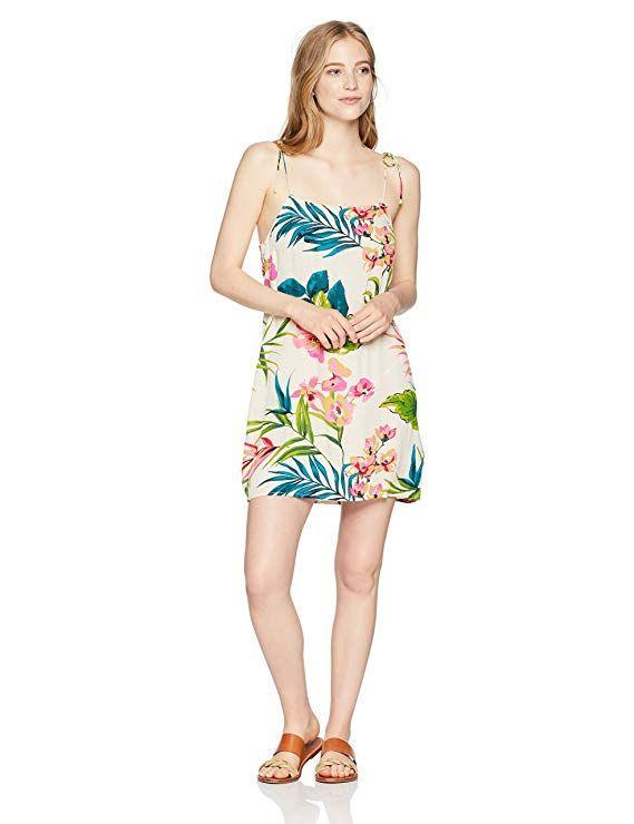 2c3bb7ef6c Amazon.com  Billabong Women s Night Twist Dress  Clothing