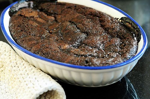 """Granny's Chocolate Cobbler **Another Anderson family favorite. Easy to make."" From The Pioneer Woman. chocolate cobbler recipe"