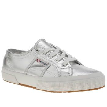 Womens Silver Superga 2750 Trainers | schuh