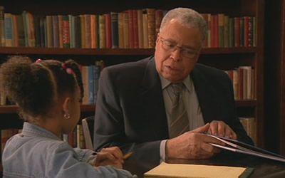 James Earl Jones in The Reading Room (2005)