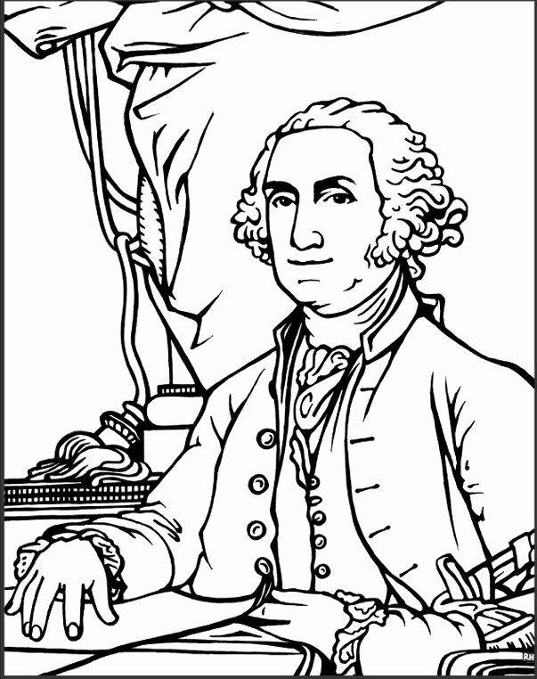 George Washington Coloring Page Fresh Perte De Poids Et La Sante George Washington S Birthday Captain America Coloring Pages Coloring Pages Fox Coloring Page