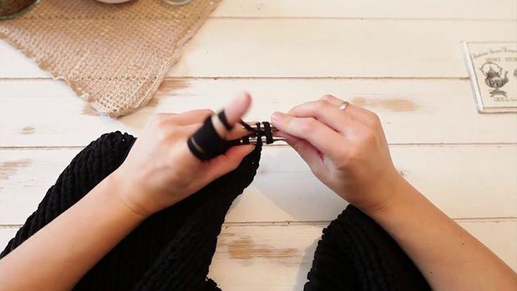 Na drutach #2 Kocyk dla początkujących | Little blanket for knitting beg...