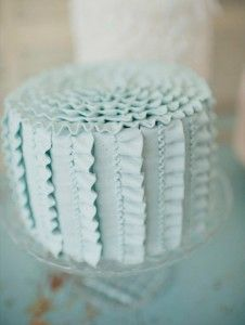 Vintage blue. #cake: Cakes Ideas, Color, Ruffle Cake, Shower Cakes, Ruffles Cakes, Blue Cakes, Wedding Cakes, Baby Shower, Blue Ruffles
