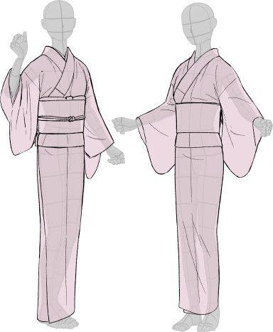 "tanuki-kimono: "" Kimono drawing information ½, by Kaoruko Maya (tumblr, pixiv, web site…"