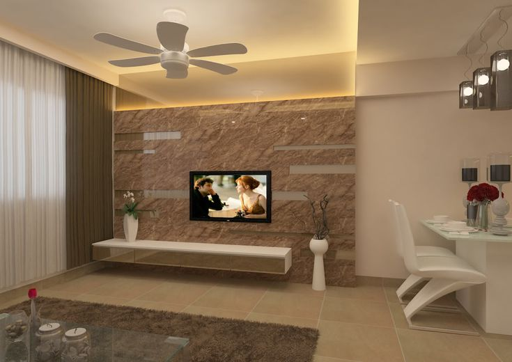 Feature wall tv la casa bella pinterest tvs feature walls and house - Lcd wall designs living room ...