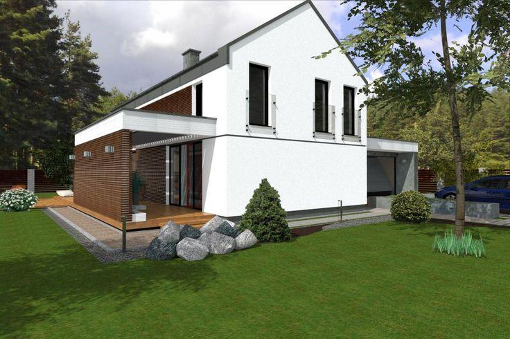 Projekty domów ABCentrum-DOM / Projekt DZP-10