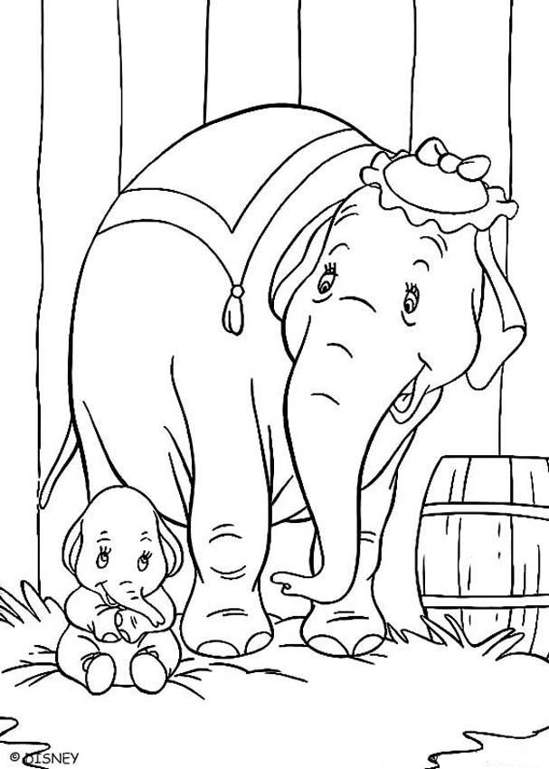 disney dumbo coloring pages bing images - Dumbo Pictures To Color