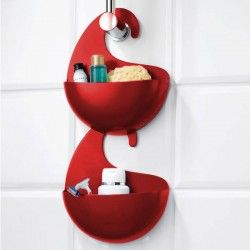 Modern Bathroom Accessories - Red Candy