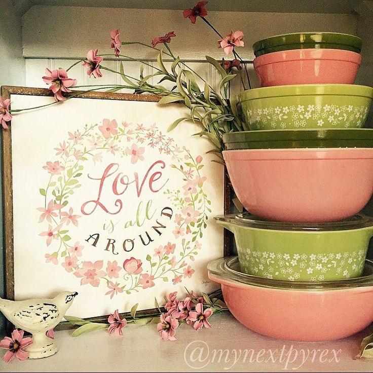 I so love vintage Pyrex